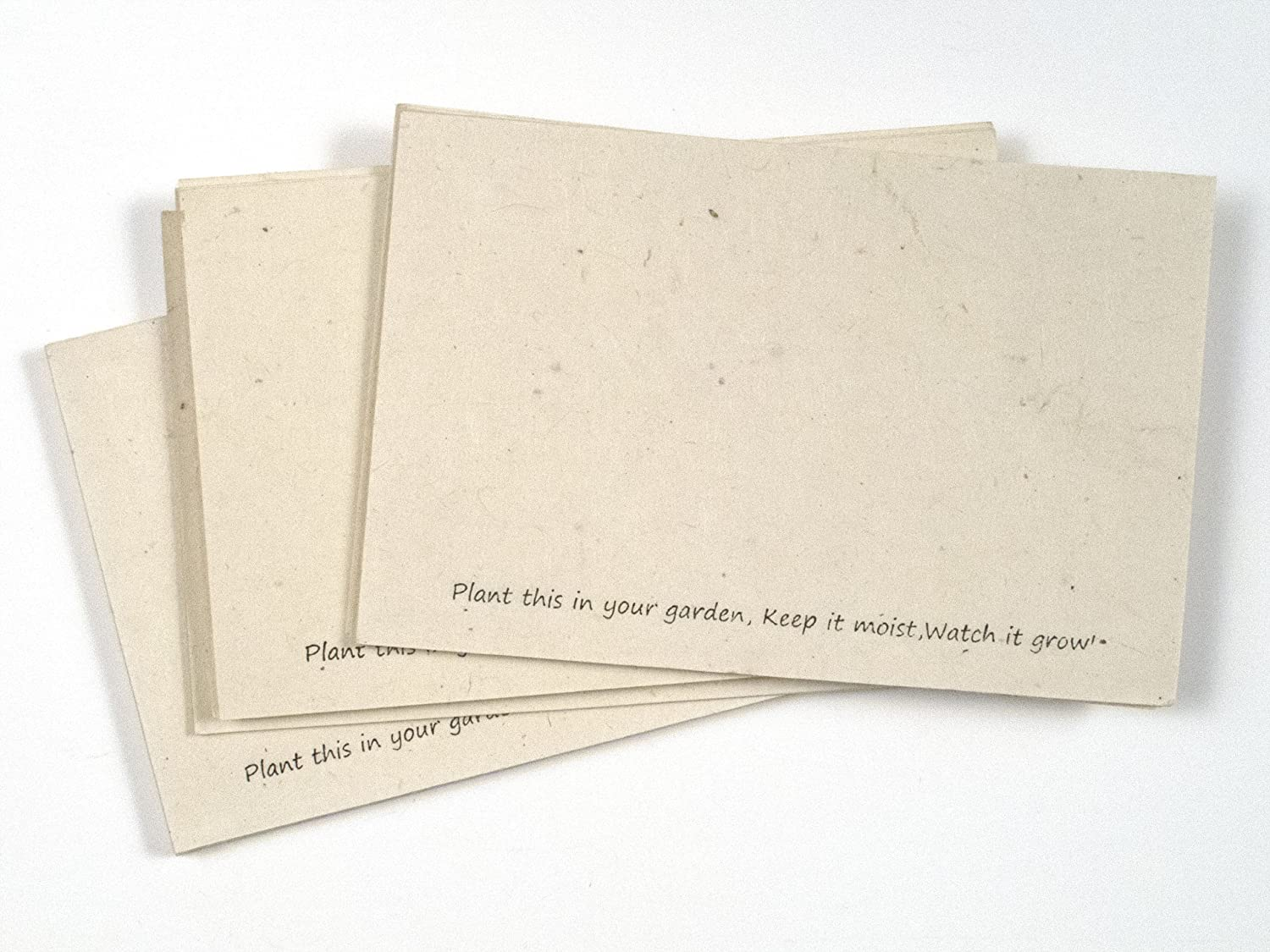 Handmade Seeded Plantable Recycled Note Paper 200 Sheets 6 x 4 Inches Of The Earth