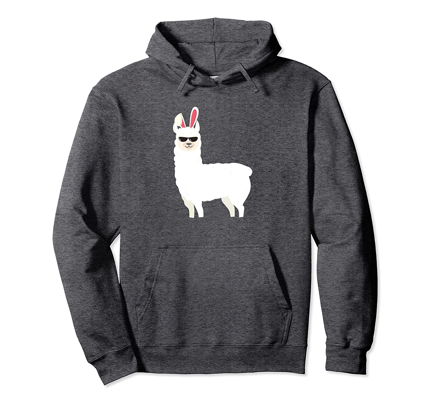 Easter Llama Bunny Hoodie Family Gift-TH