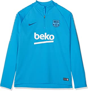 94347483 Nike 2018-2019 Barcelona Drill Training Top (Equator Blue) - Kids