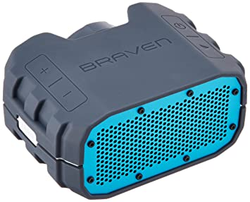 waterproof portable bluetooth speakers. braven brv-1 portable wireless bluetooth speaker [12 hours][waterproof] built waterproof speakers r