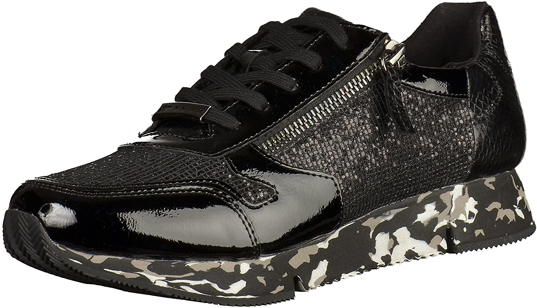 Tamaris 23701 Damen Sneakers Schwarz (schwarz 001)