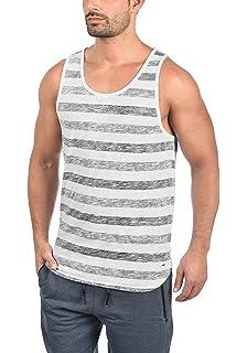 Indicode Caballero Lethbridge Camiseta de Tirantes con Bolsillo en el Pecho 100//% algod/ón Regular Fit Camisa De Cuello Redondo Mangas Sin Shirt Interior para Hombres