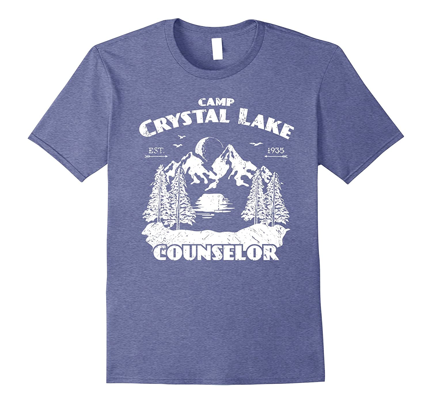 129f9e99afb1 Camp Camping Crystal Lake Counselor Vintage Gift T-Shirt-FL ...
