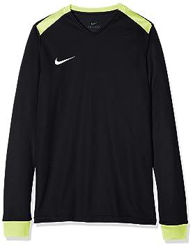 sale retailer 00646 32c57 Nike Park Derby II LS, Maillot Enfant, Noir (Black Volt White