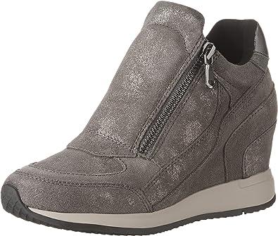 fondo Bloquear en frente de  Geox - Nydame - D620QA07722C9002 - El Color Beige-Marrón - ES-Rozmiar:  40.0: Amazon.es: Zapatos y complementos