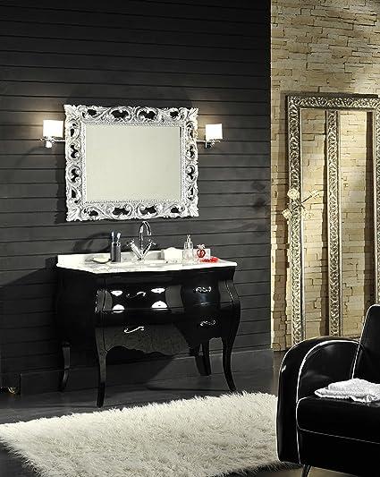 Arredo Bagno Barocco Moderno.Mobile Bagno In Stile Barocco Bombato Con Cassetti Laccato