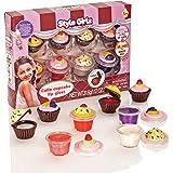 S & Li cosméticos Cutie Cupcake Juego de 8 Piezas Lipgloss