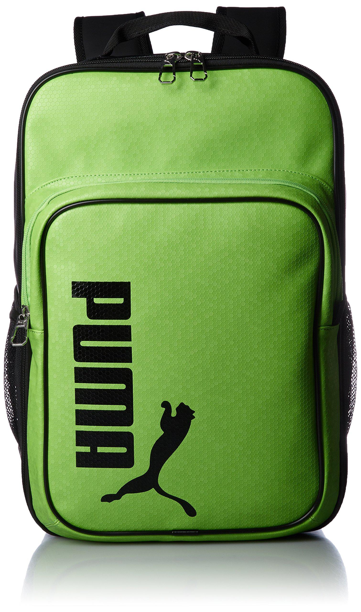 Puma Backpack Enamel Mat Backpack 74666 (Green Gecco/Black)