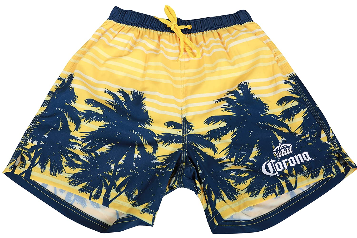 Corona Boardshorts Summer Beachwear Surf Swim Hawaiian Cruise Palms Shorts CMES7