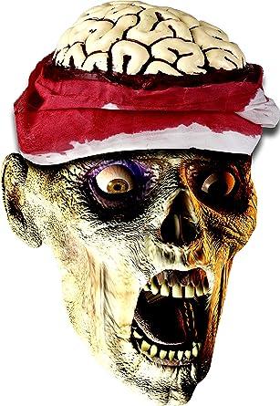 Amazon.com: Kangaroo's Halloween Accessories - Zombie Brain Cap ...