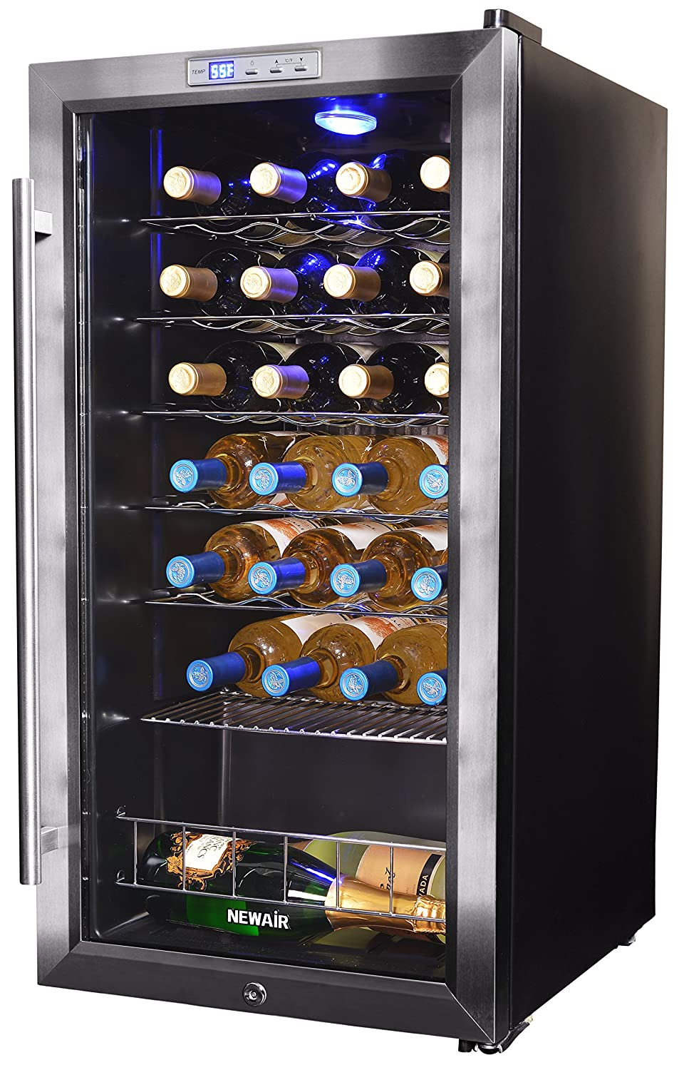 NewAir AWC-270E Wine Cooler 27 Bottle Stainless Steel
