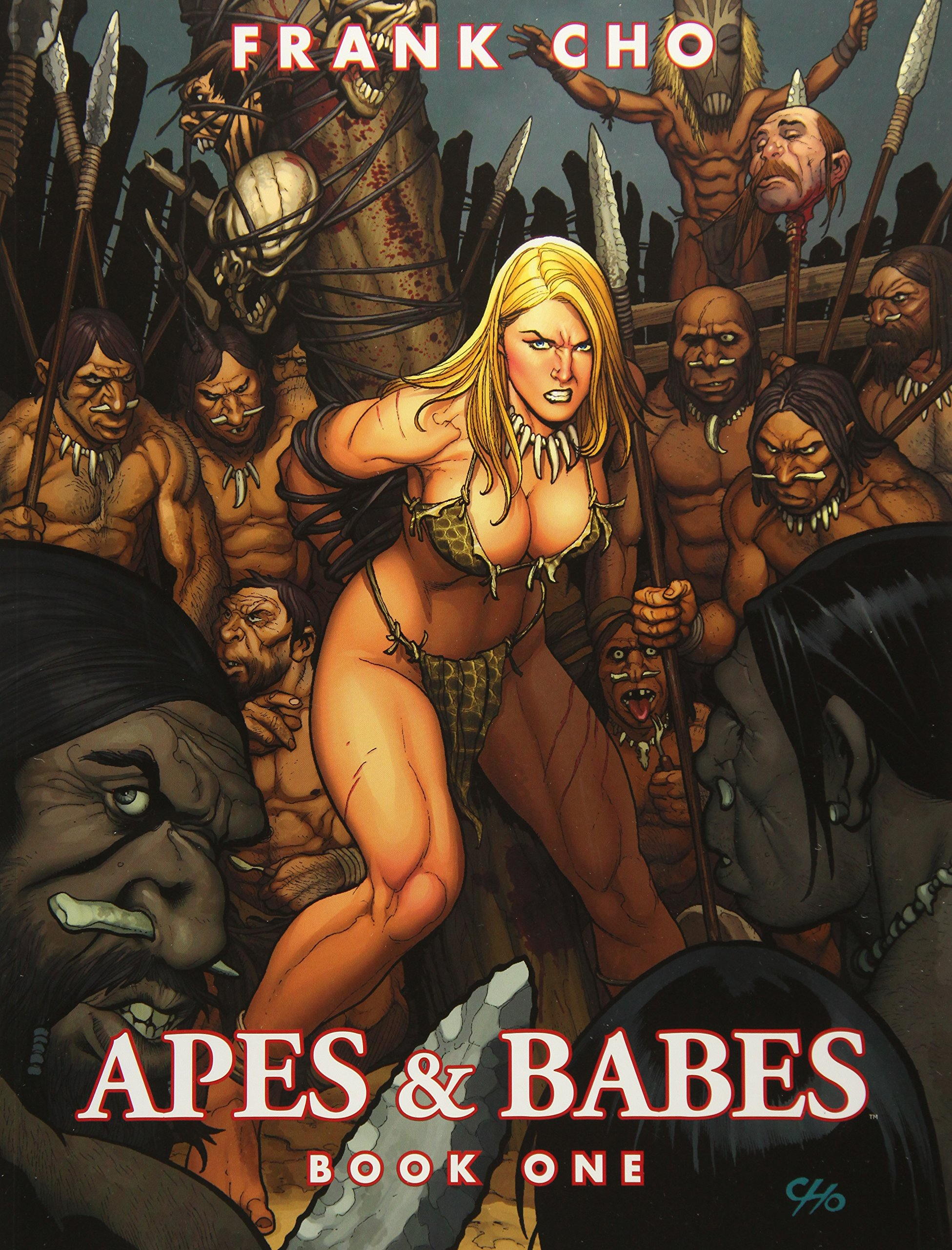 Image result for frank cho apes and babes