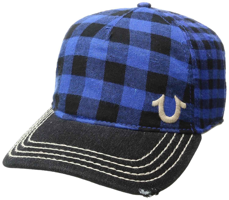 73afddbea76 Amazon.com  True Religion Men s Buffalo Check Cap