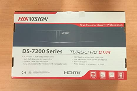 Hikvision Upgraded HUHI-K1 Series 4Channel Turbo HD Metal DVR 1Pcs