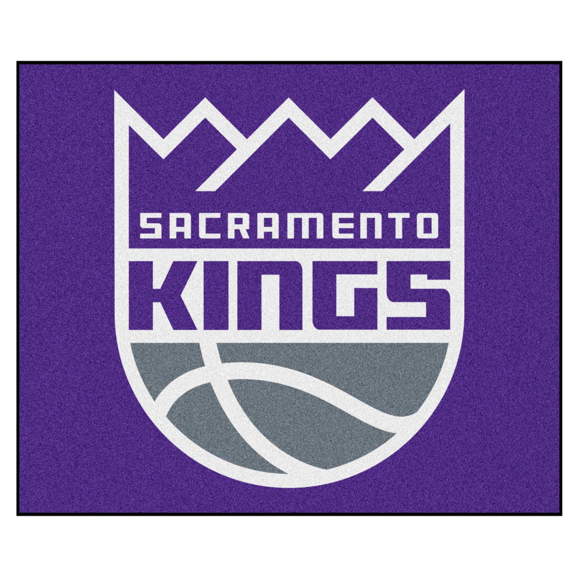 FANMATS 19474 NBA - Sacramento Kings Tailgater Rug , Team Color, 59.5''x71''