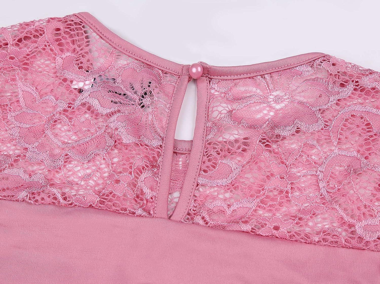 Molliya Maternity Long Dress Lace Long Sleeve Ruched Waist Photography Maxi Baby Shower Dress