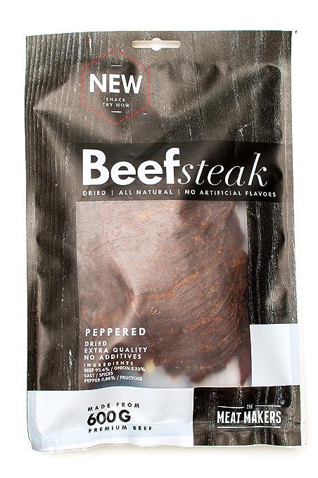 7 opinioni per Secco carne di manzo 200g, da The Meat Makers