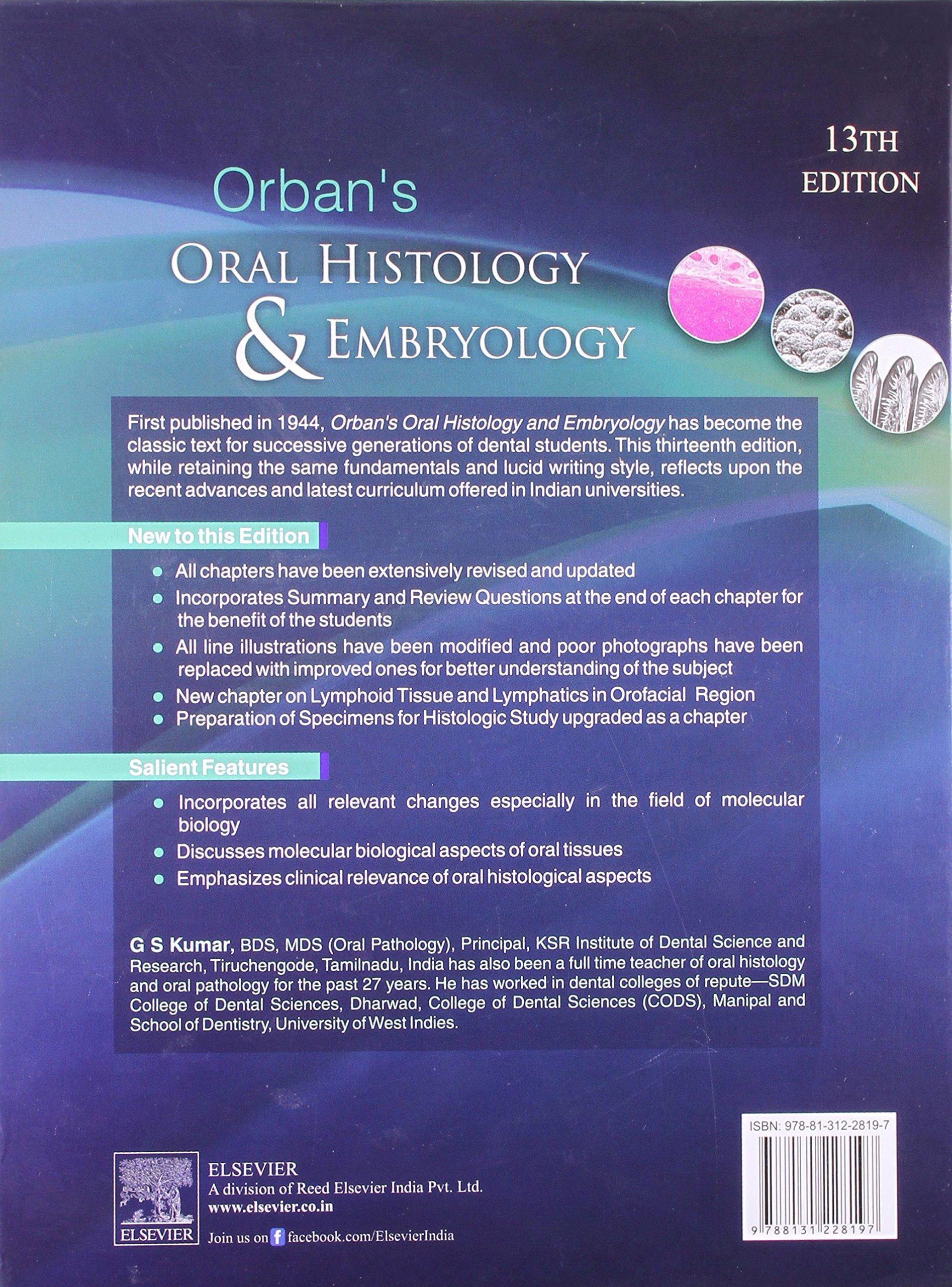 Fein Berkovitz Orale Anatomie Histologie Und Embryologie ...