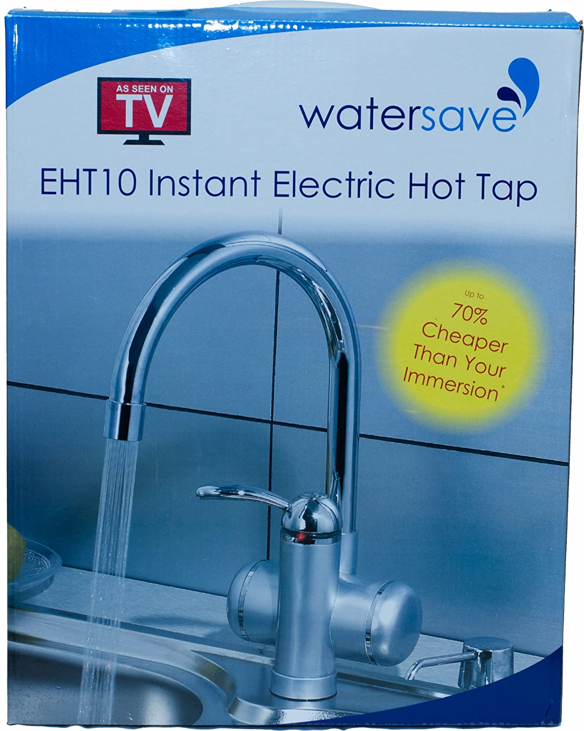 Watersave EHT10 Electric Hot Water Tap: Amazon.co.uk: Kitchen & Home