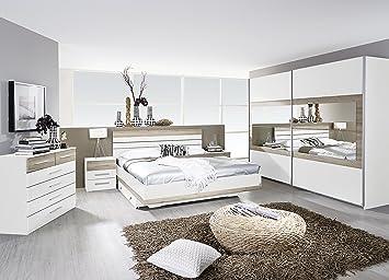 Rauch Schlafzimmer Komplettangebot Schwebetürenschrank 271 cm/Bett ...