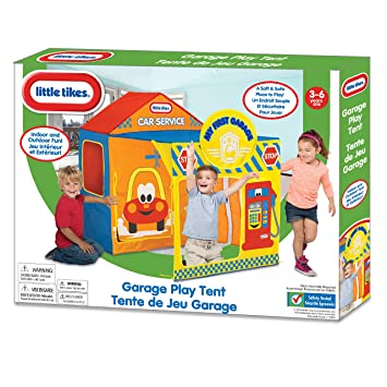 Little Tikes Garage Tent  sc 1 st  Amazon.com & Amazon.com: Little Tikes Garage Tent: Toys u0026 Games