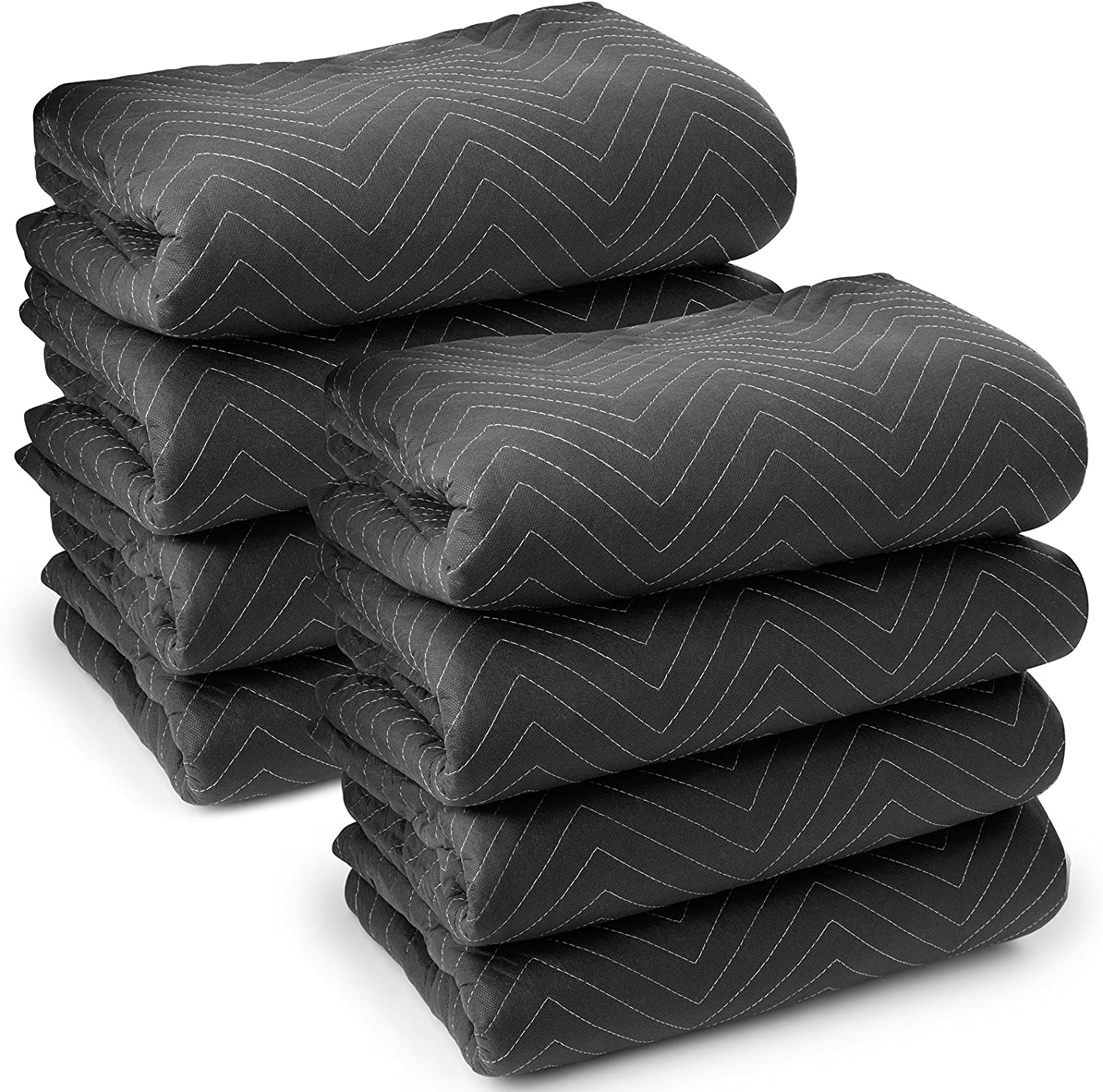Sure-Max 8 Moving & Packing Blankets - Ultra Thick Pro - 80