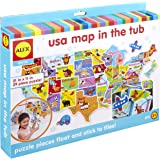 ALEX Bath USA Map in the Tub