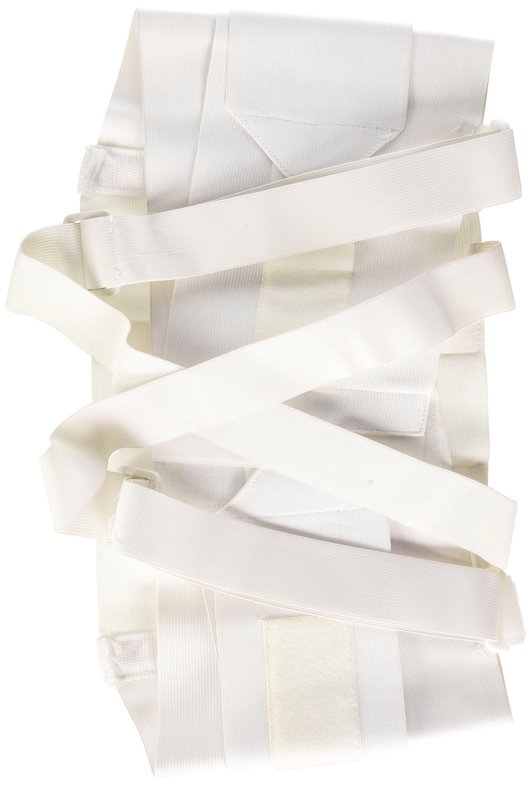 Bilt-Rite Mastex Health 9 Inch Occu-Rite Industrial Support, White, Medium