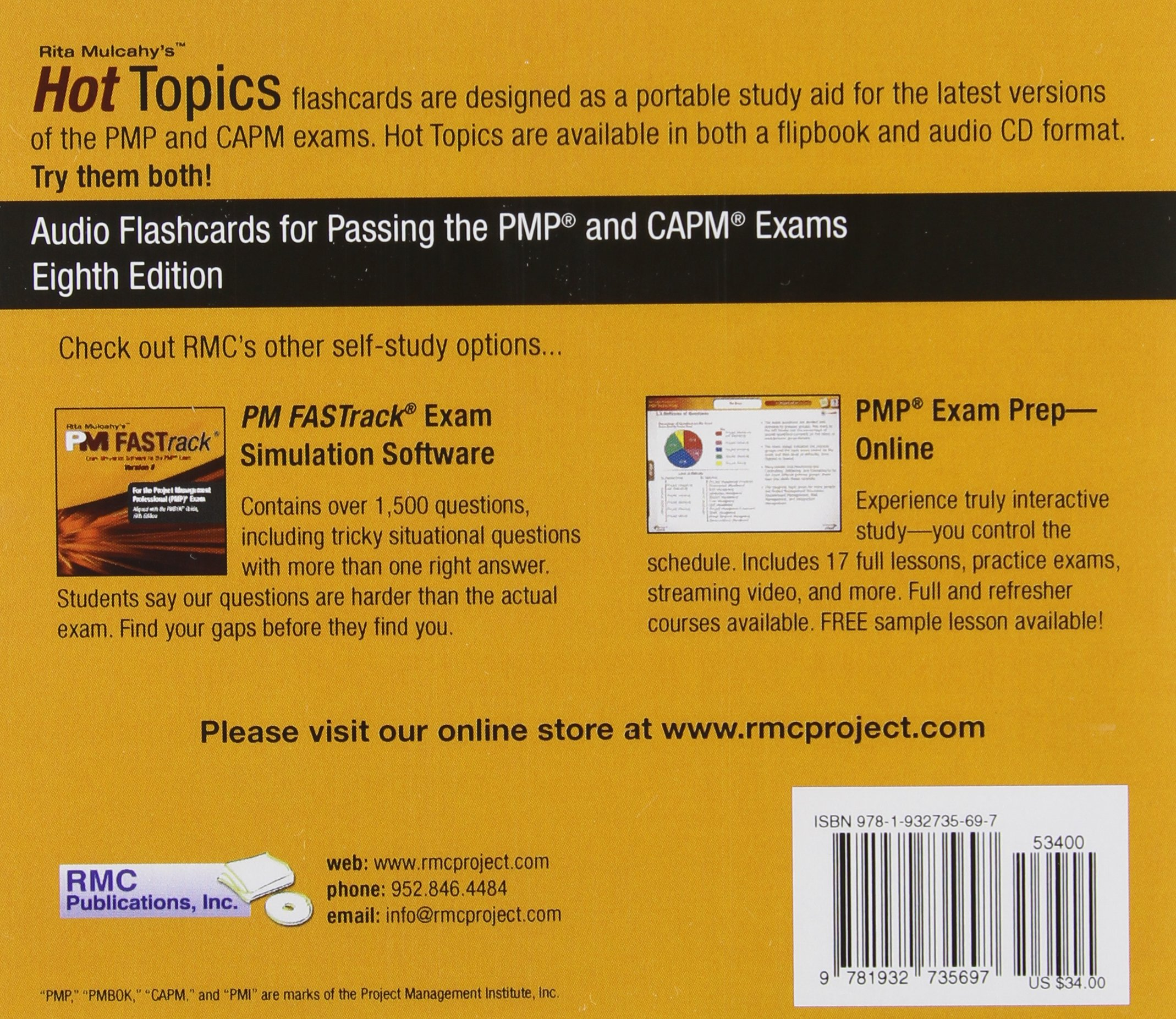 Buy hot topics audio flashcards for passing the pmp and capm buy hot topics audio flashcards for passing the pmp and capm exams book online at low prices in india hot topics audio flashcards for passing the pmp 1betcityfo Images