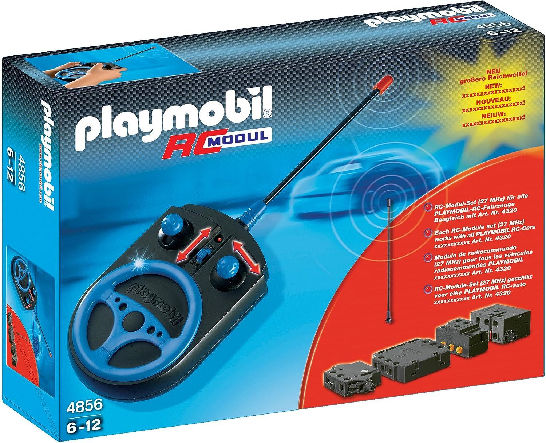 Playmobil Módulo RC Plus con radiocontrol, compatible con los coches RC (4856)