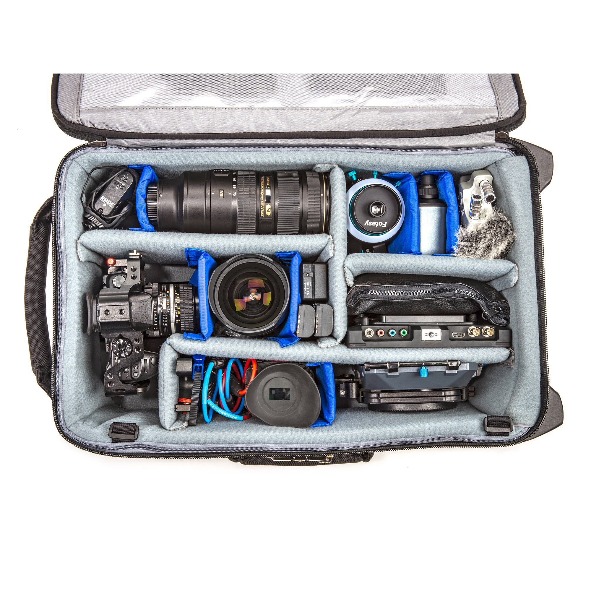 Think Tank Photo Video Transport 20 Carry-On Case (Pacific Slate) by Think Tank (Image #6)