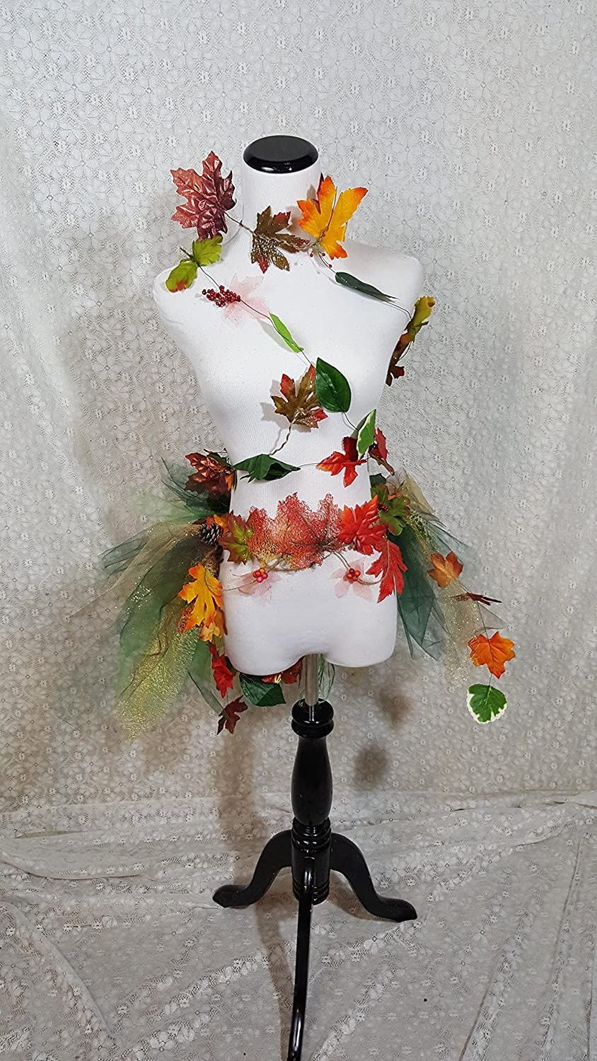 361a0bdd0c2 Amazon.com: Adult Mother Nature Tutu Bustle and Body Vine: Handmade