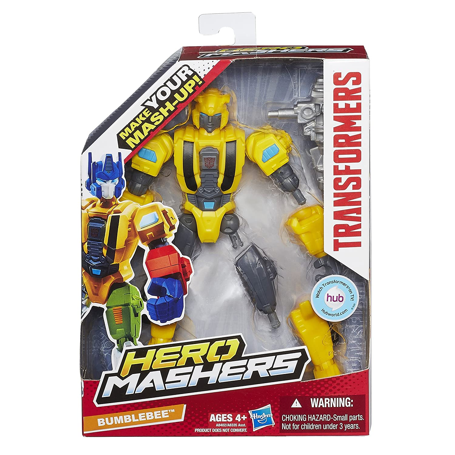 amazon com transformers hero mashers bumblebee figure toys u0026 games