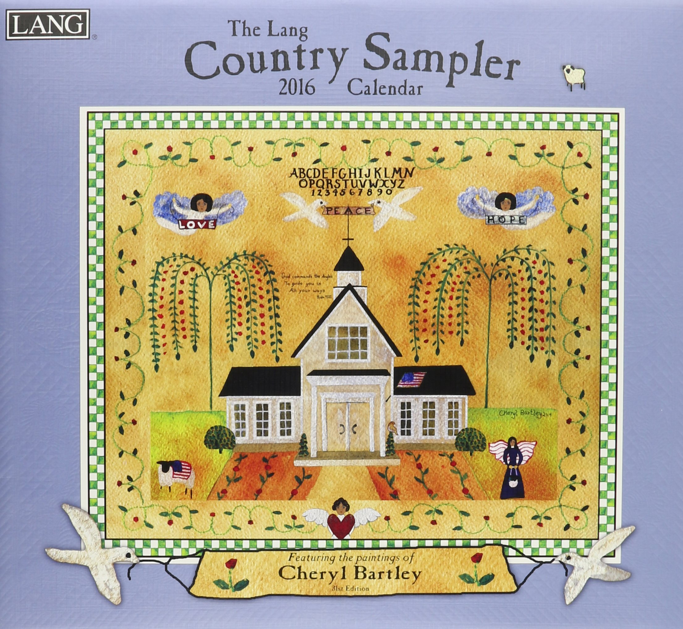 Country Sampler 2016 Wall Calendar