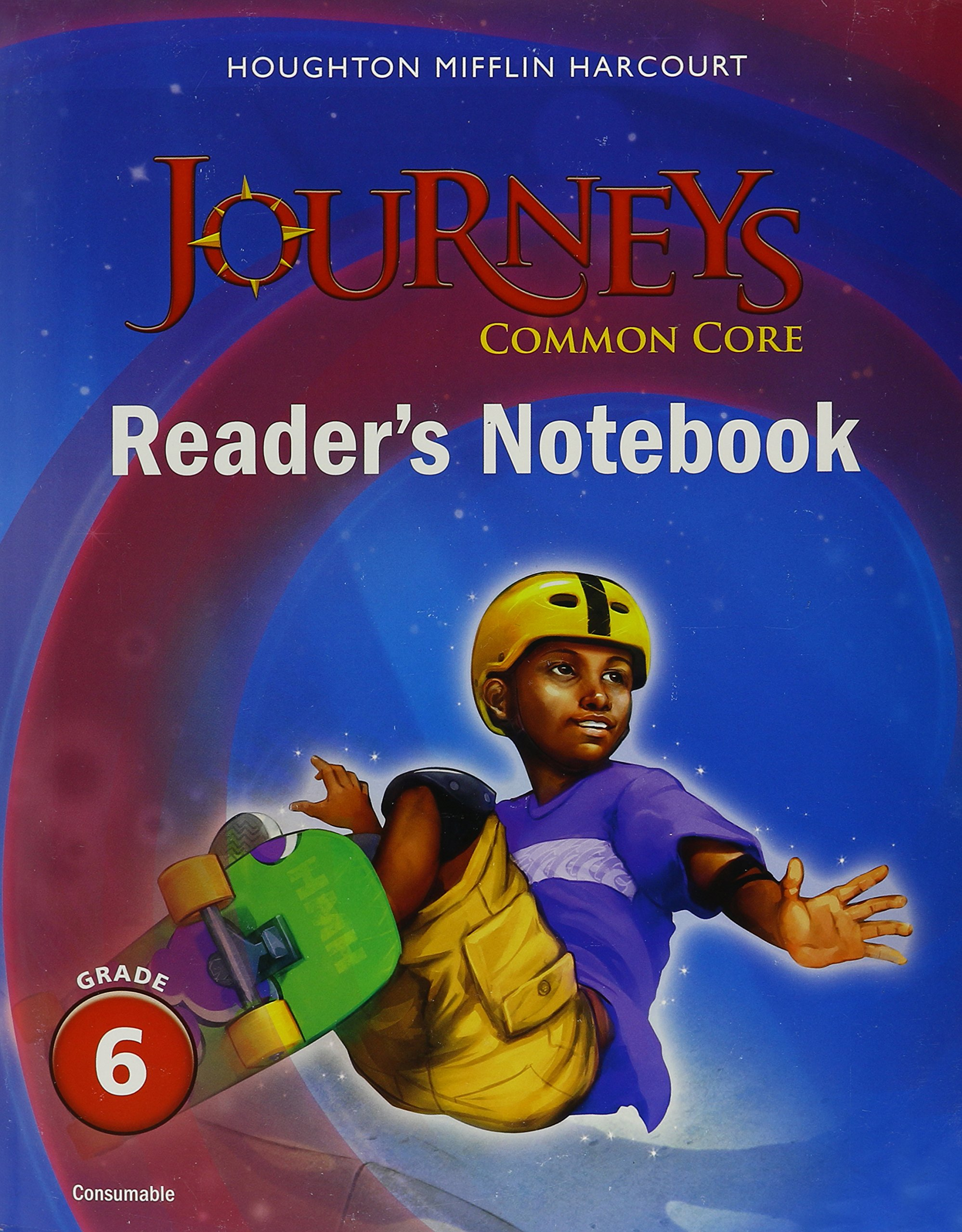 Read Online Journeys: Common Core Reader's Notebook Consumable Grade 6 pdf