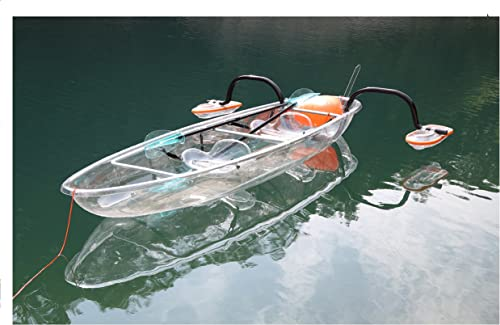 The Best Double Touring&Hunting Transparent Kayak (Polycarbonate) [ClearYup] Picture