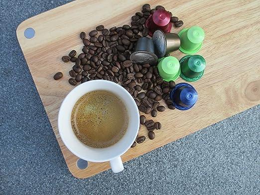 80 Cafés Oquendo Nespresso Compatible Coffee Capsules – BRASIL Single Origin Medium-Bodied Premium Quality Nespresso Coffee - 8 Boxes 10 pods/box - 80 cups ...