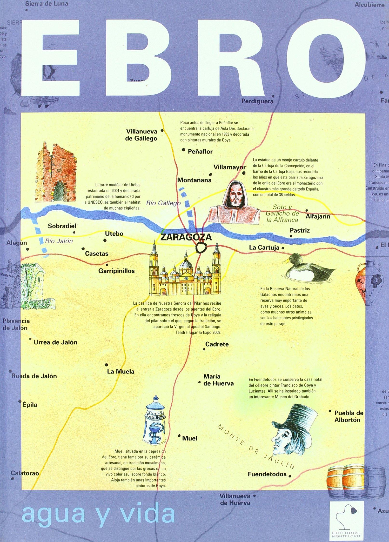 EBRO:AGUA Y VIDA (Spanish) Paperback