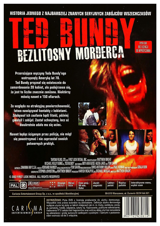 f2d93a45864 Amazon.com: Ted Bundy [DVD] (English audio): Michael Reilly Burke, Boti  Bliss, Julianna McCarthy, Jennifer Tisdale, Michael Santos, Annalee Autumn,  ...