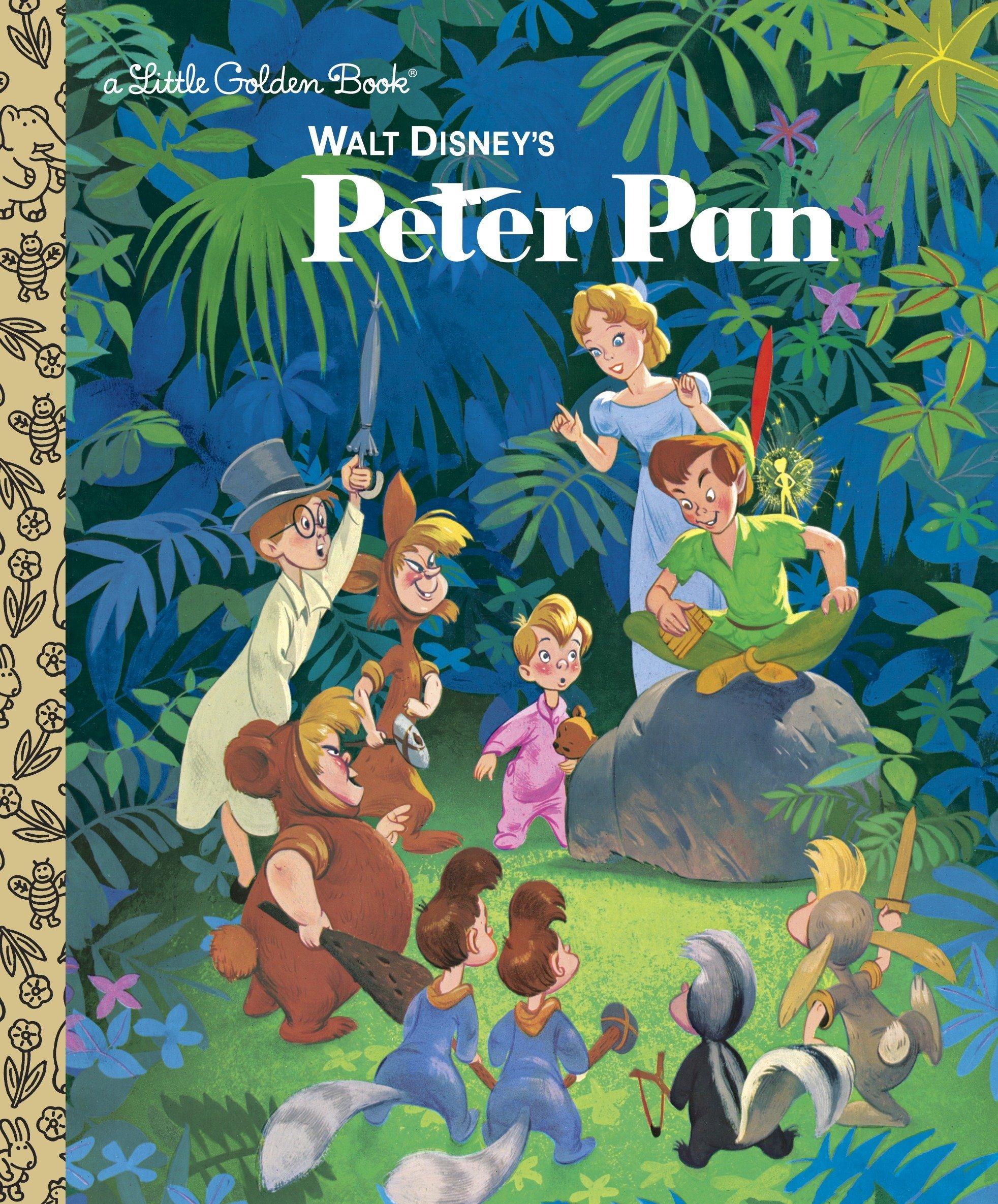 Image result for peter pan disney children's book a little golden book