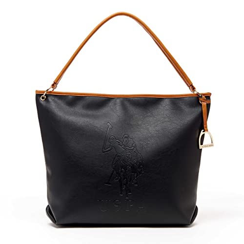 69830178a3 US Polo ASSN Designer Handbags  Women s Kingston Hobo Bag (Black) -  (Multiple