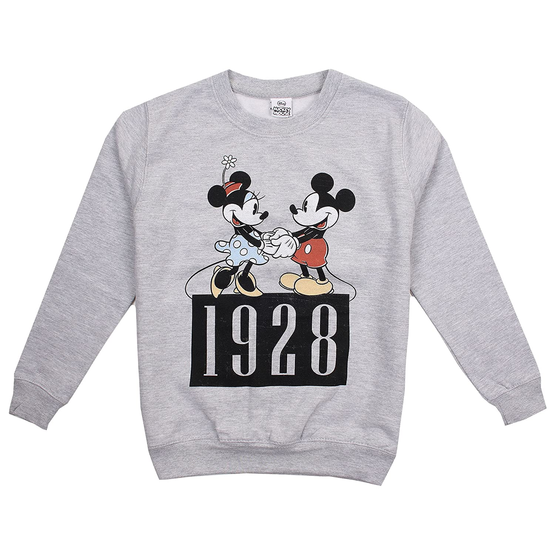 Disney Dance, Felpa Bambina Grigio (Sport Grey) 11-12 Anni RBGCS186