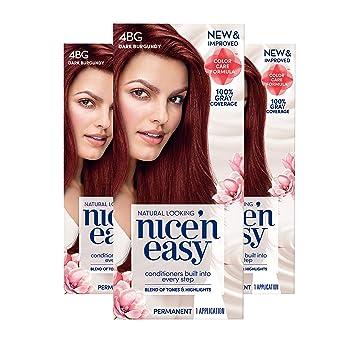 Amazon Com Clairol Nice N Easy Permanent Hair Color 4bg Natural