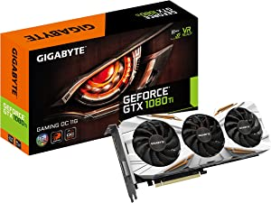 Gigabyte GeForce GTX 1080 Ti Gaming OC 11GB Graphic Cards N108TGAMINGOC-11GD