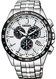 [シチズン] 腕時計 シチズン コレクション エコ・ドライブ電波時計 ダイレクトフライト クロノグラフ CB5874-90A メンズ シルバー