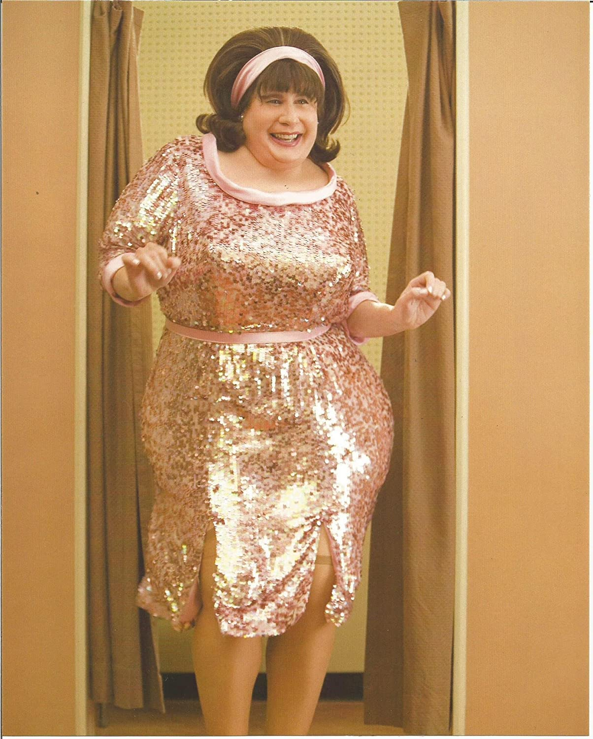John Travolta In Hairspray As Edna Turnblad Dancing 8 X 10 Photo At Amazon S Entertainment Collectibles Store