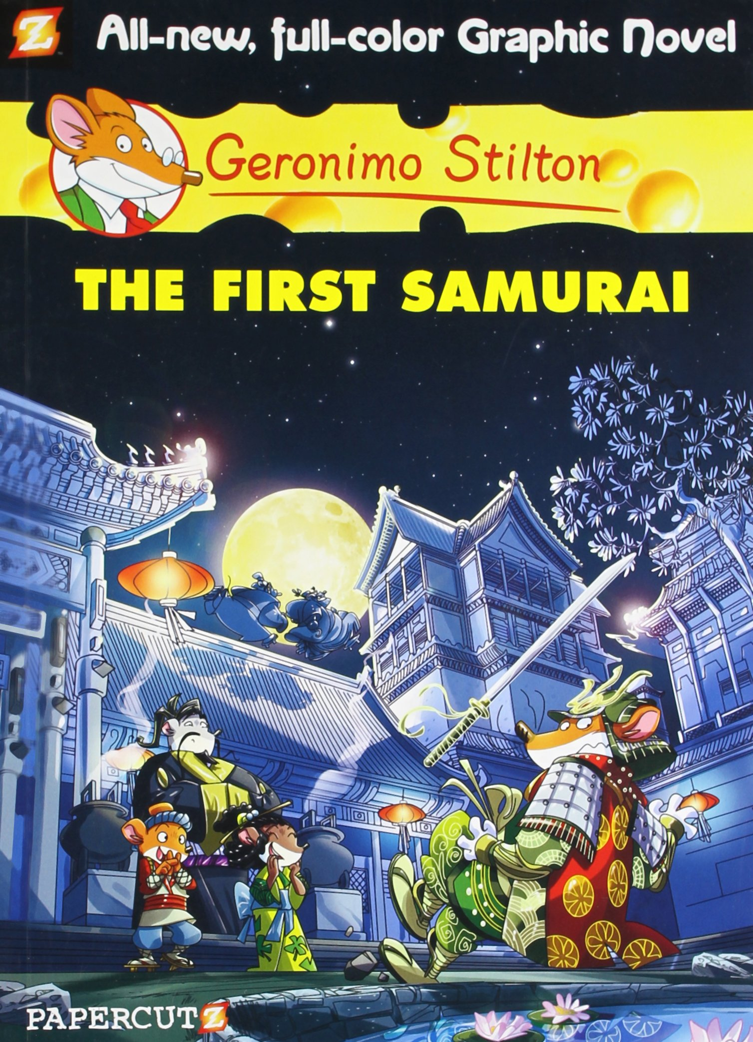 Geronimo Stilton Graphic Novel # 12: The First Samurai(Chinese Edition) pdf epub