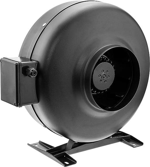 PrimeMatik KH053-VCES Ventilador de Tubo de 150 mm. Extractor de conducto en línea para la ventilación Industrial (KH053): Amazon.es: Jardín