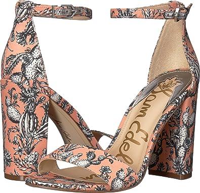 Yaro Cork Ankle Strap Block Heel Dress Sandals jQW4qi1FY