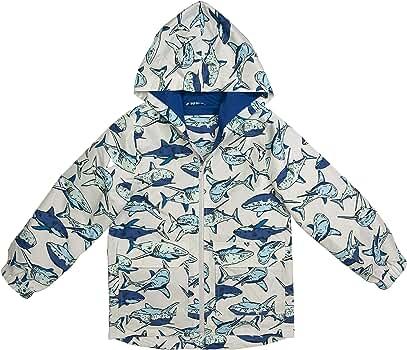 New Carter/'s Boys Raincoat Jacket NWT  3T 4T 5 6 7 8 yr Navy Lizard Face Hooded